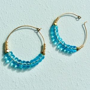 Beautiful beaded Earrings New